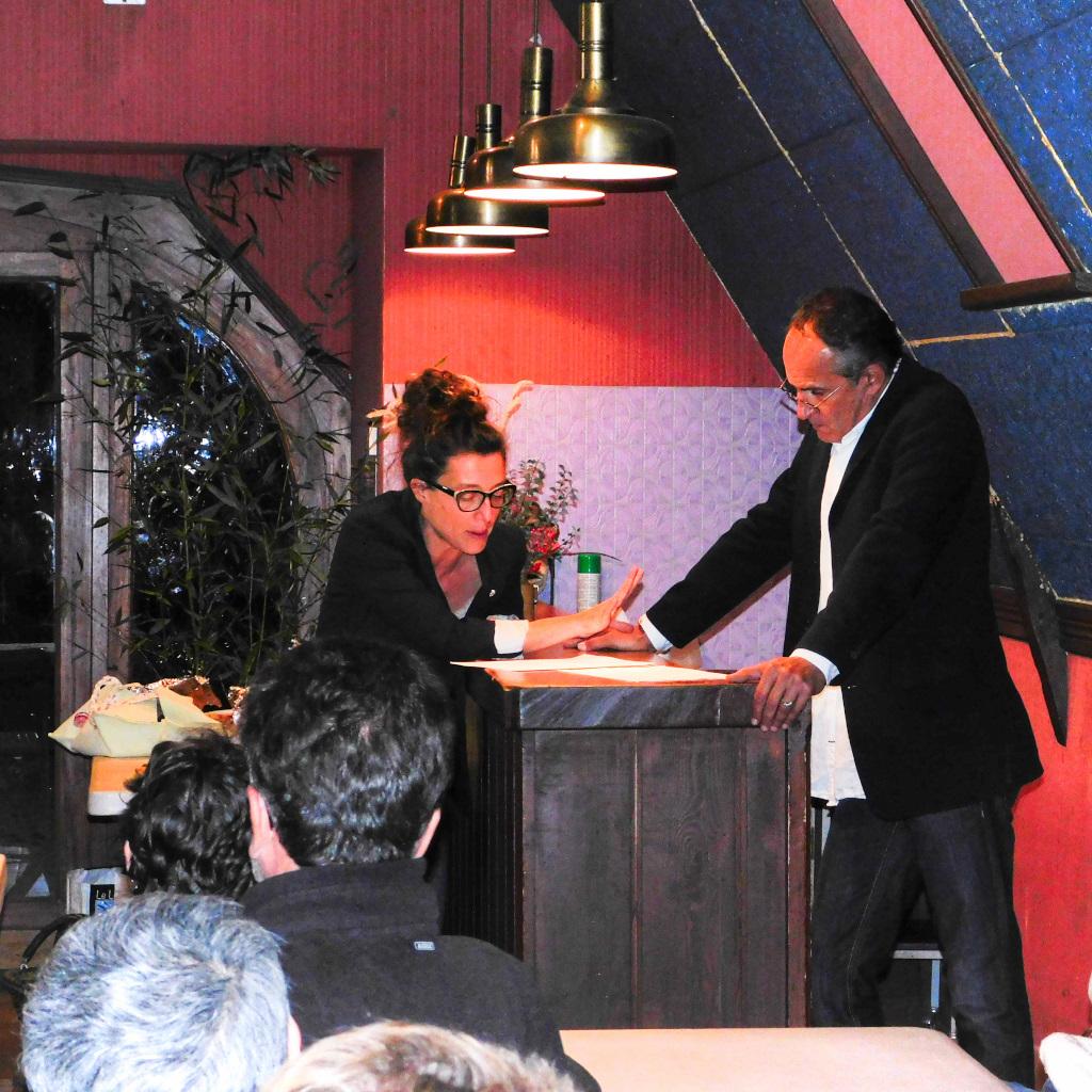 Lectures dans la ville, le 3 novembre 2016 – Salle des fêtes de Cambes