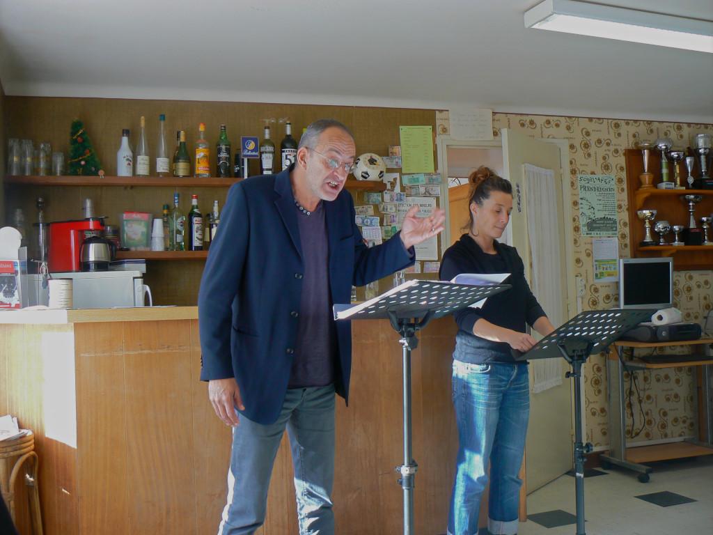 Lectures dans la ville 2017 - Prendeignes - Bar le Pilou